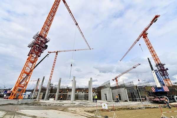 В Парке науки и искусства «Сириус» строится концертный комплекс мирового уровня