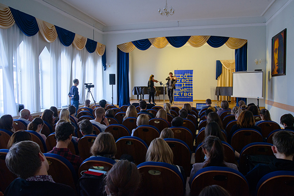 Фестиваль «Сотворчество»: мастер-класс Сергея Полтавского (фотогалерея)