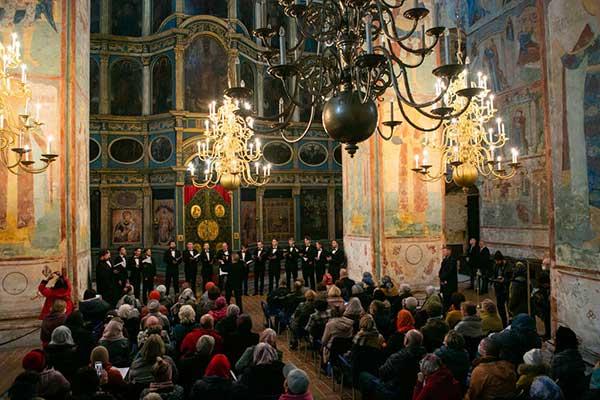 «От юности моея»: концерт хоровой музыки на фестивале «Кружева» (фотогалерея)